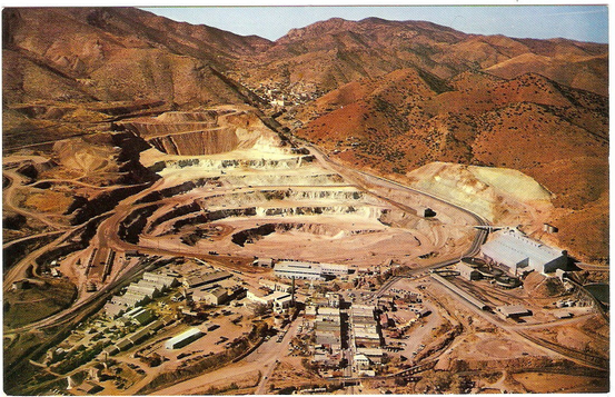 phelps dodge copper mine 1950 lowell