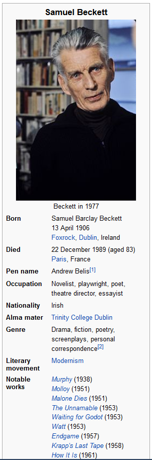 samuel beckett plays