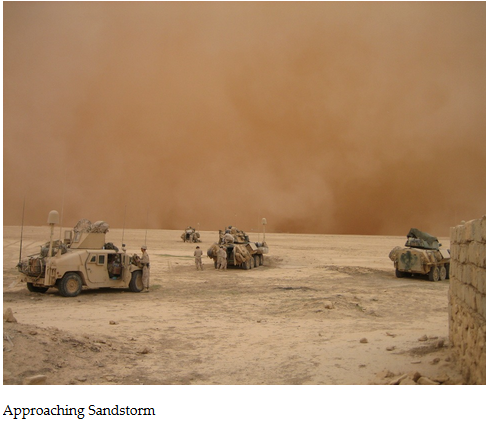 sandstorm war iraq kuwait