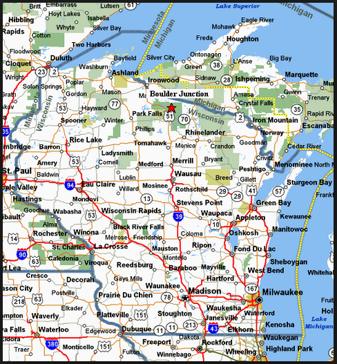 wisconsin map sin wave